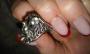 Кольцо ручной работы серебро